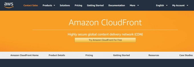 Amazon Cloudfront CDN