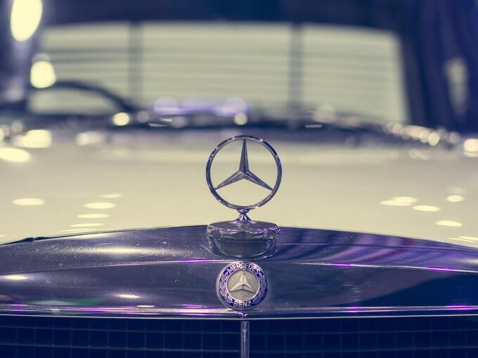 mercedes logo star
