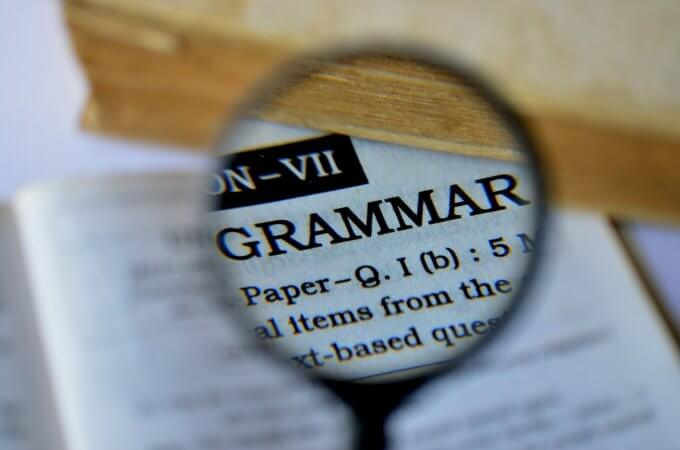 grammar checking software