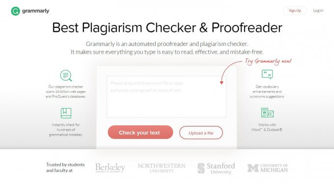 website to check plagiarism