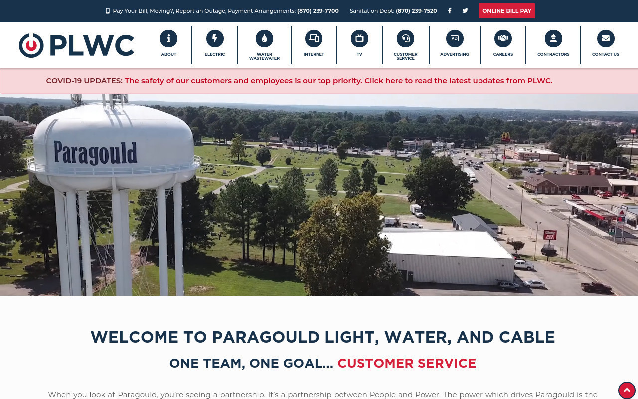 The Light Plant Commission Of The City Of Paragould